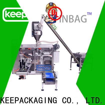 Keepac 8 inches seal packing machine Suppliers for standup pouch
