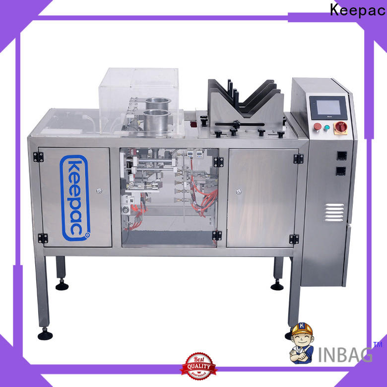 Keepac stainless steel 304 doypack machine factory for beverage