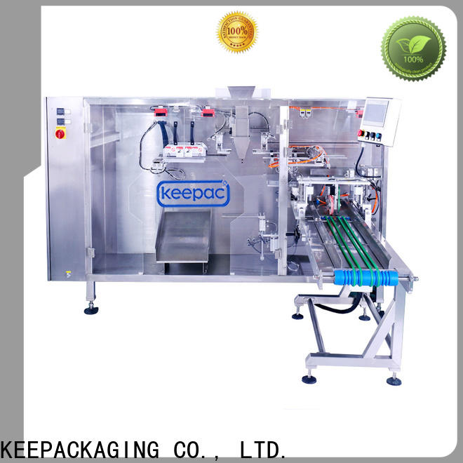 Custom water pouch packing machine straight flow design Supply for 3 sides sealed pouch
