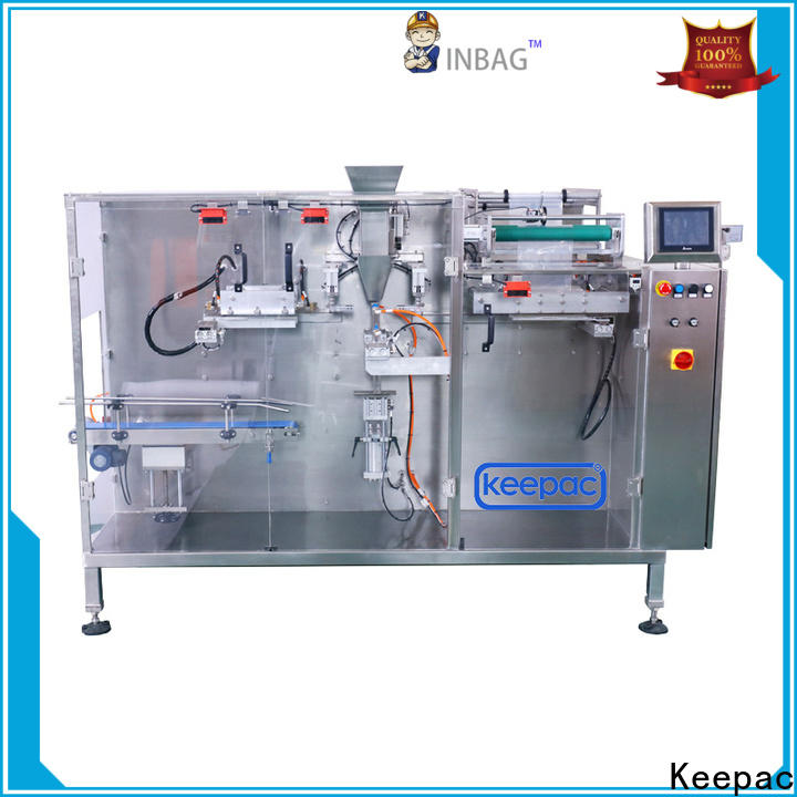 Keepac Latest horizontal packaging machine for business for food