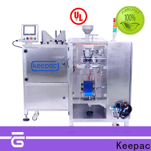 Keepac High-quality small food packaging machine Supply for pre-openned zipper pouch