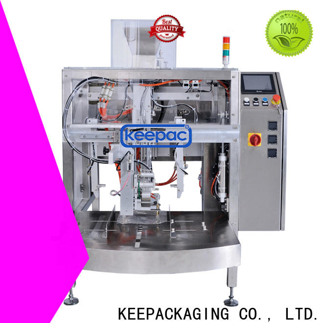 Keepac Top mini doypack machine for business for pre-openned zipper pouch