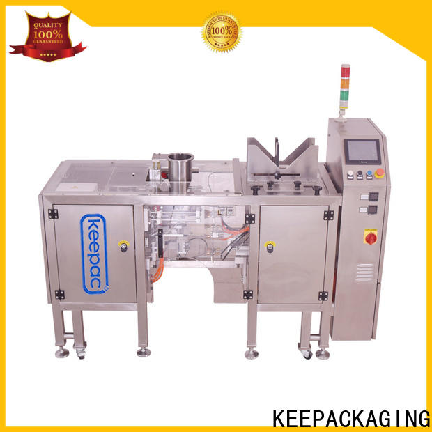 Keepac High-quality automatic grain packing machine Suppliers for pre-openned zipper pouch