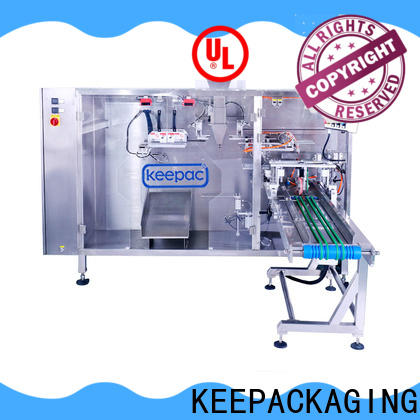 Keepac New juice pouch packing machine manufacturers for zipper bag