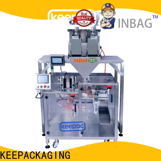 Keepac linear powder pouch packing machine factory for standup pouch