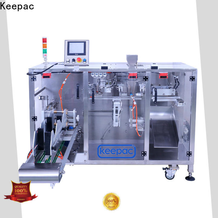 Keepac Latest pick fill seal machine for business for standup pouch