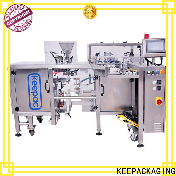 Keepac multi bag format small food packaging machine manufacturers for food