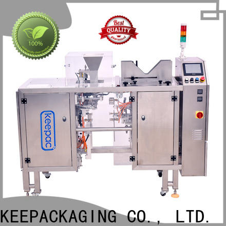 Keepac quick release snack food packaging machine factory for beverage