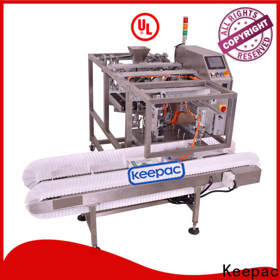 Keepac Top snack food packaging machine Supply for pre-openned zipper pouch