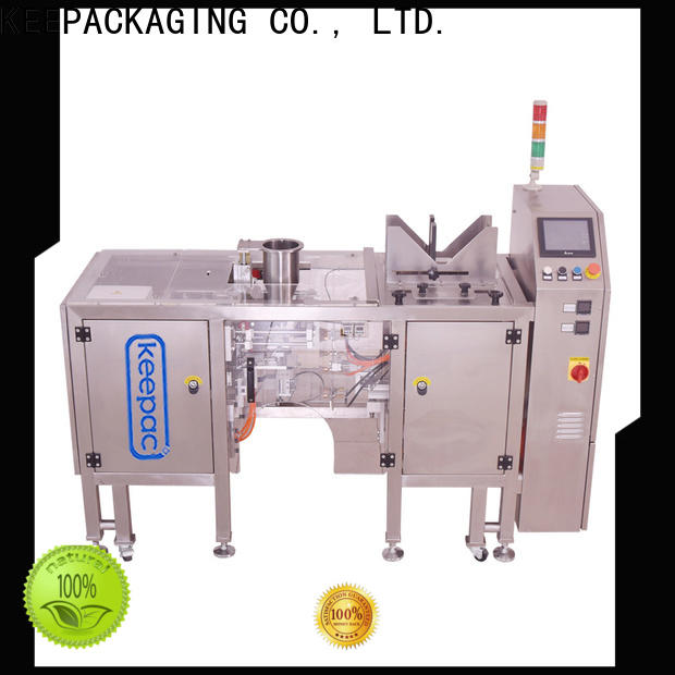 Keepac High-quality snack food packaging machine for business for beverage