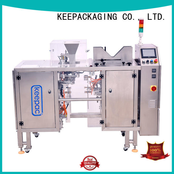 Keepac efficient small food packaging machine factory direct for pre-openned zipper pouch