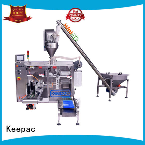 Keepac professional potato chips packing machine 8 inches for zipper bag