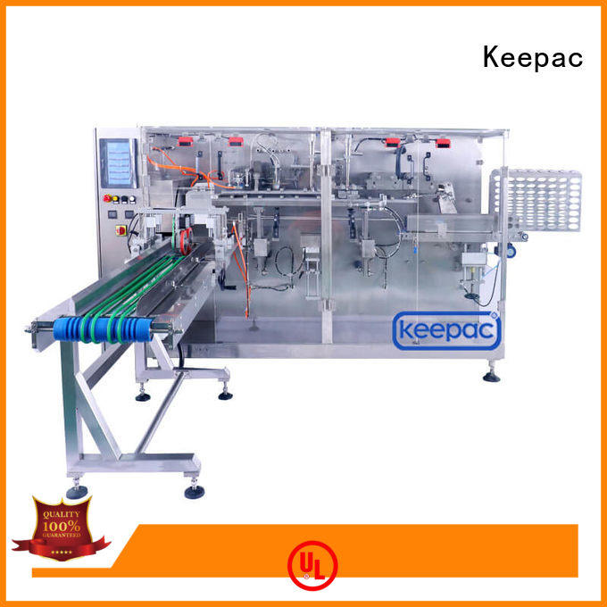 Keepac filler packaging machine design customized for beverage
