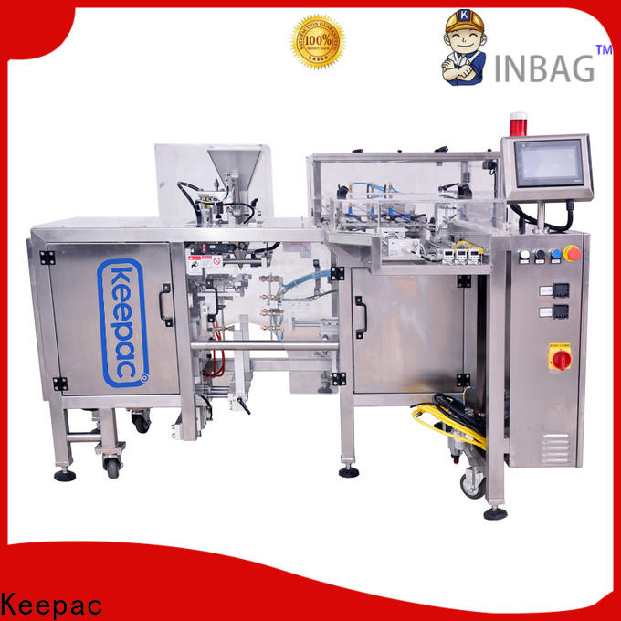 Keepac different sized small food packaging machine factory for beverage