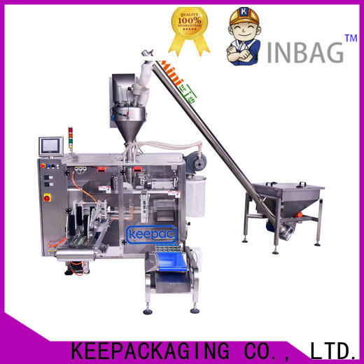 Keepac staight flow design pick fill seal machine Supply for zipper bag