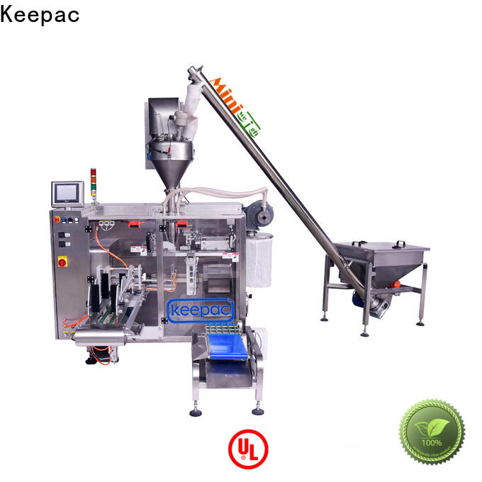 Custom horizontal form fill seal machine 8 inches Suppliers for standup pouch