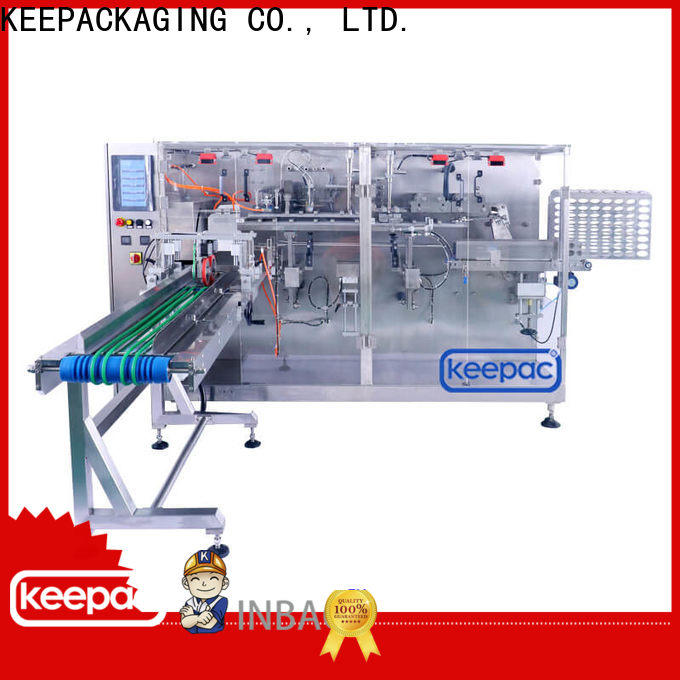 Keepac linear horizontal packing machine for business for beverage