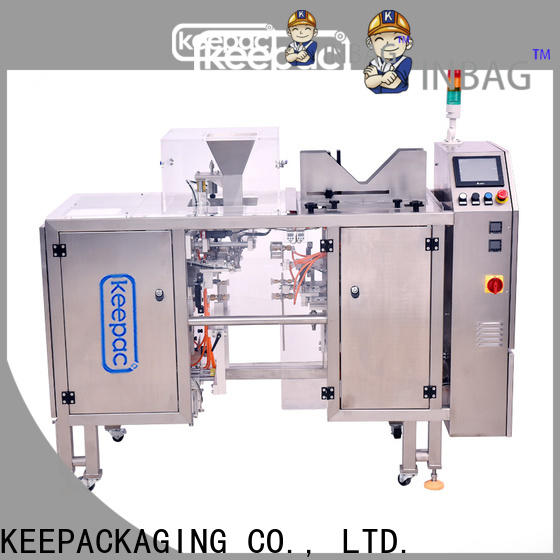 Keepac stainless steel 304 mini doypack machine for business for beverage