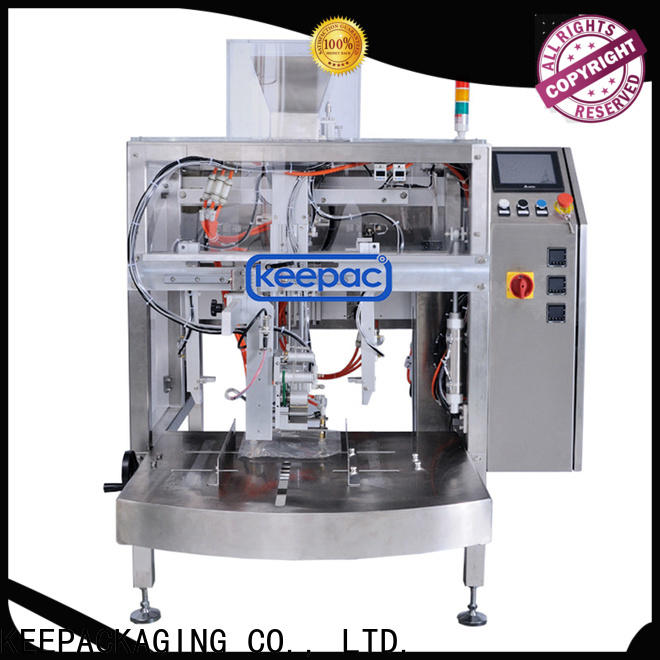 Latest chips packaging machine different sized Supply for pre-openned zipper pouch