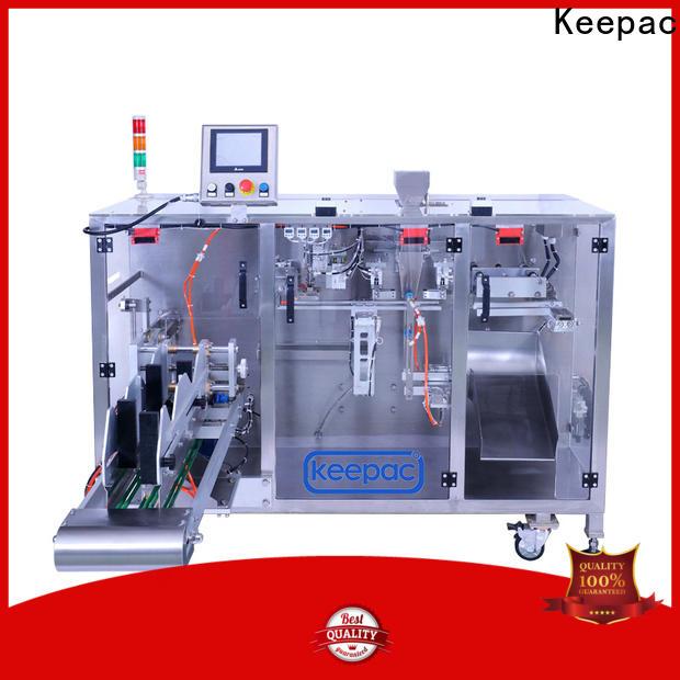 Best milk powder packing machine staight flow design Supply for zipper bag