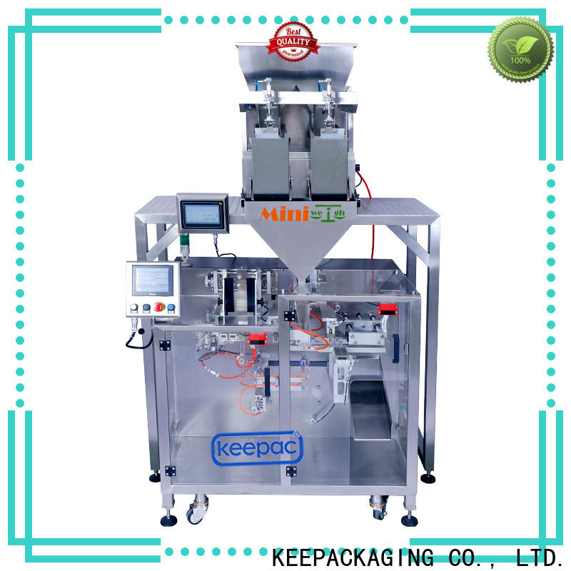 High-quality powder pouch packing machine 8 inches Suppliers for zipper bag