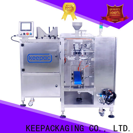 Keepac Top snack food packaging machine for business for pre-openned zipper pouch