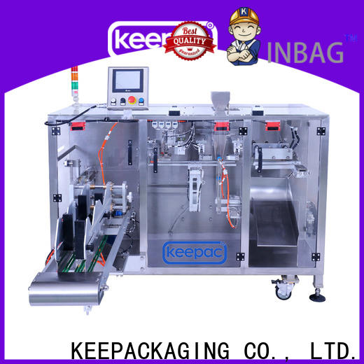 Keepac staight flow design milk powder packing machine Suppliers for zipper bag