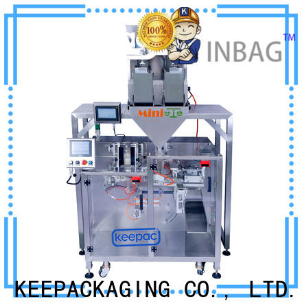 Keepac linear automatic powder packing machine Supply for standup pouch