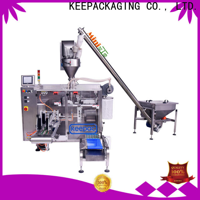 Keepac Best form fill seal machine manufacturers for standup pouch