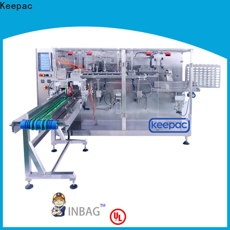 Keepac spout types of packaging machines factory for food