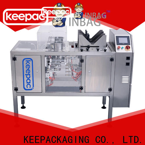 Keepac stainless steel 304 chips packaging machine Suppliers for pre-openned zipper pouch