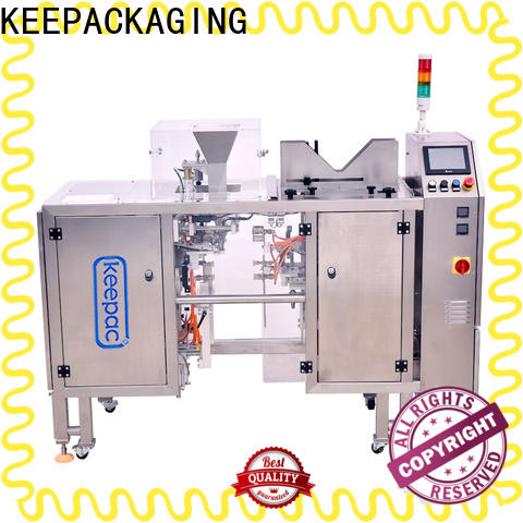 Keepac mini chips packaging machine company for pre-openned zipper pouch