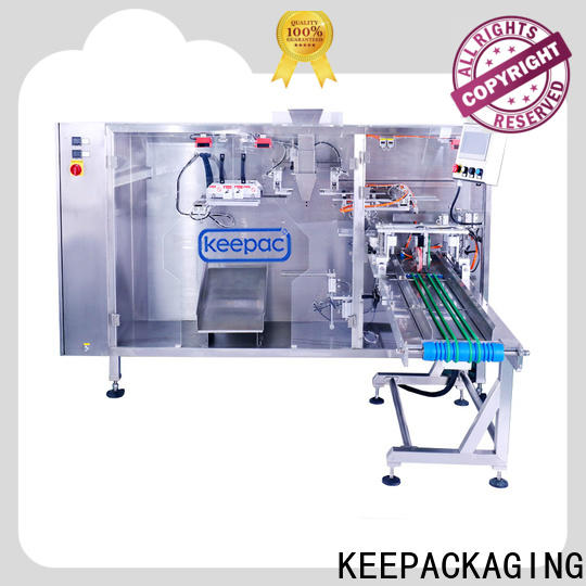 Keepac easy to clean juice pouch packing machine company for zipper bag