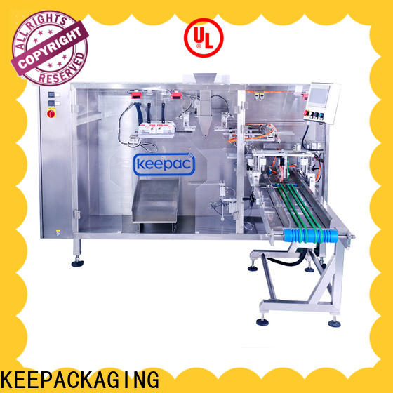 Keepac Wholesale automatic pouch packing machine manufacturers for standup bag