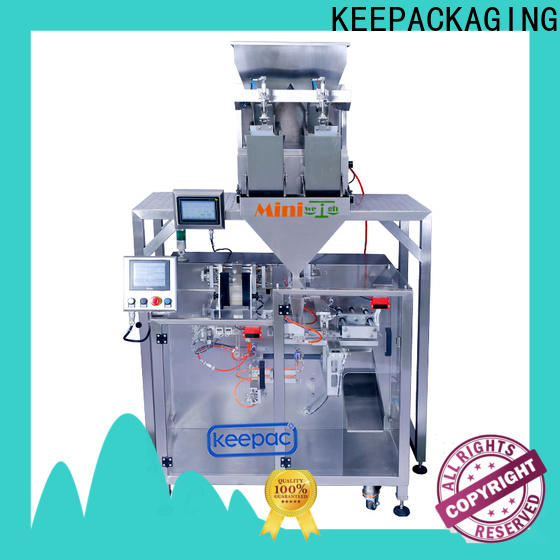 Keepac Top milk powder packing machine factory for standup pouch