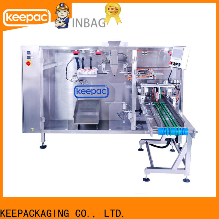Keepac High-quality liquid pouch packing machine manufacturers for 3 sides sealed pouch