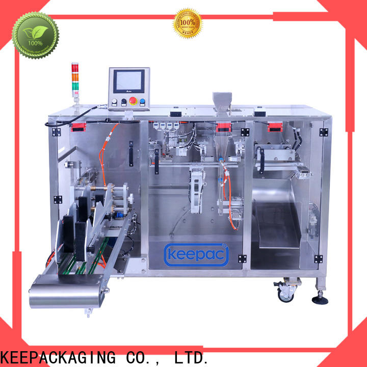 Keepac duplex powder pouch packing machine for business for zipper bag