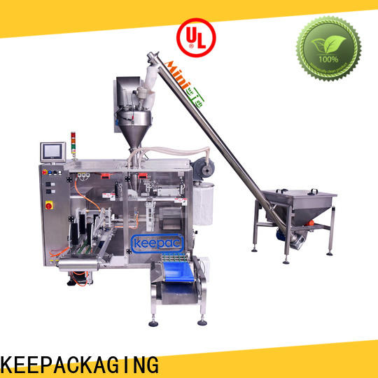 New pick fill seal machine duplex for business for food