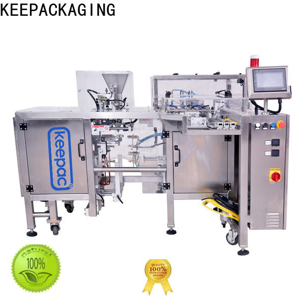 Keepac High-quality small food packaging machine factory for pre-openned zipper pouch
