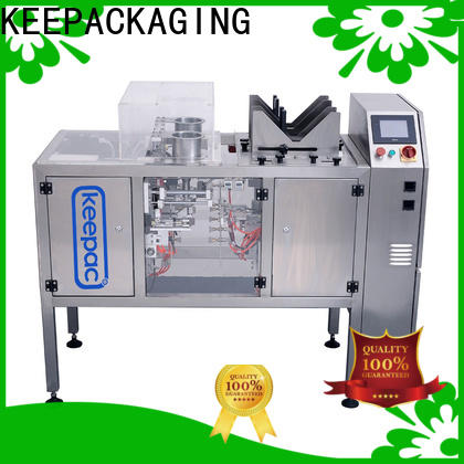 Keepac stainless steel 304 doypack machine company for beverage