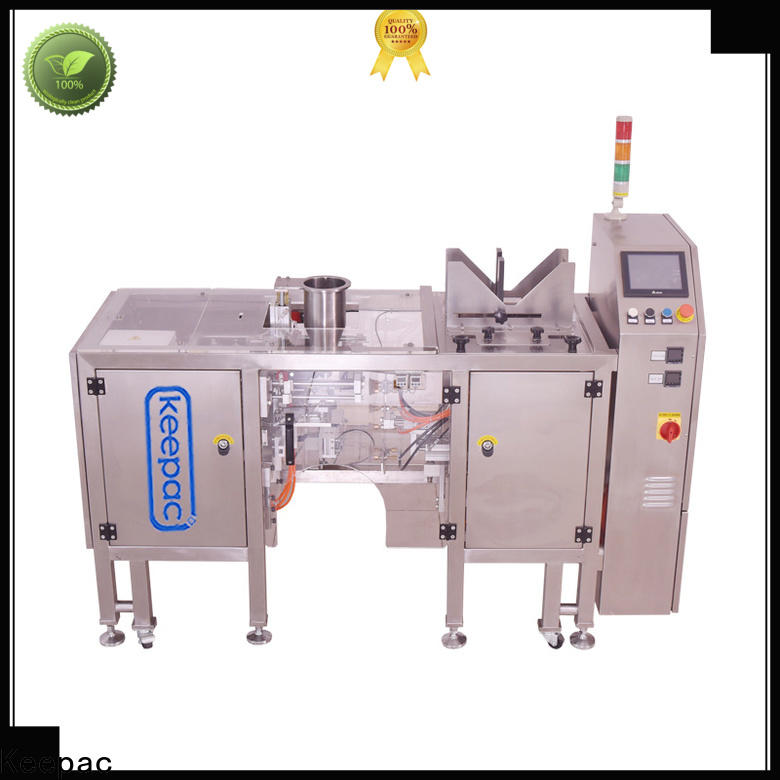 Keepac New chips packaging machine manufacturers for pre-openned zipper pouch