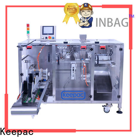 Best horizontal form fill seal machine duplex factory for standup pouch