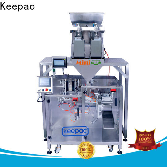 Keepac New powder pouch packing machine company for food