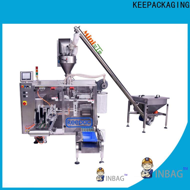 Keepac 8 inches powder packing machine company for zipper bag