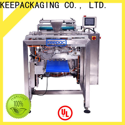 Keepac easy running automatic form fill seal machines factory for zipper bag