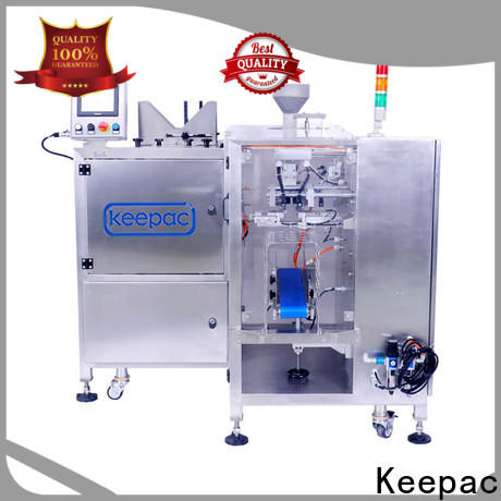 Keepac stainless steel 304 small food packaging machine manufacturers for pre-openned zipper pouch