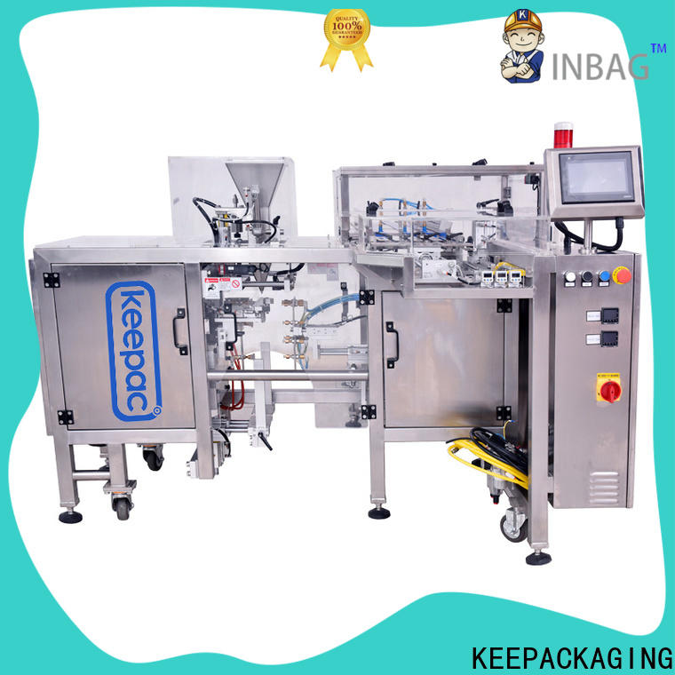Keepac New snack food packaging machine manufacturers for pre-openned zipper pouch