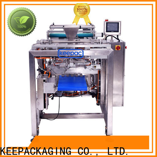 Keepac New heat seal packaging machine manufacturers for standup pouch