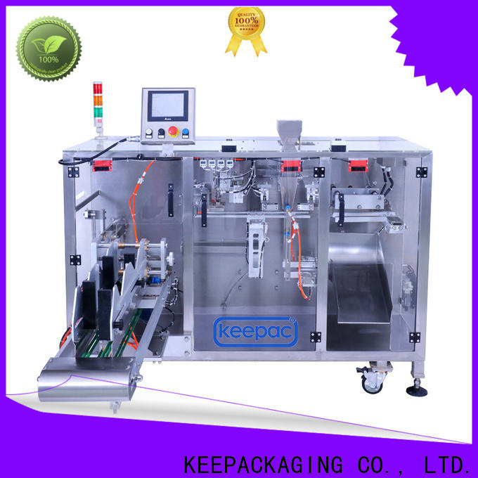 Keepac Top horizontal form fill seal machine factory for food