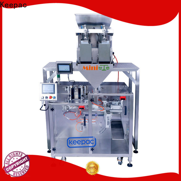 Keepac Top horizontal form fill seal machine factory for standup pouch